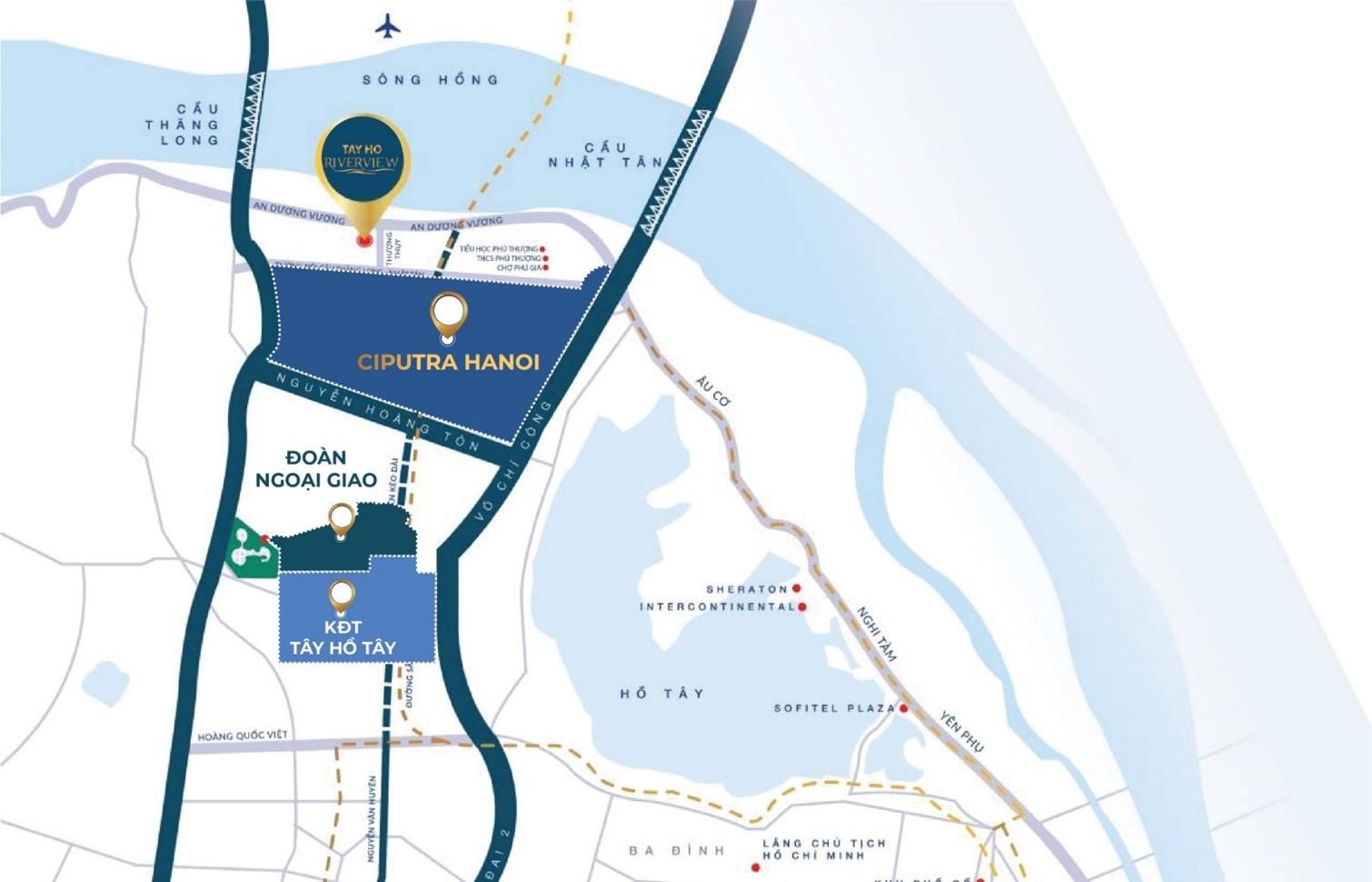 Dự án chung cư Tây Hồ Riverview
