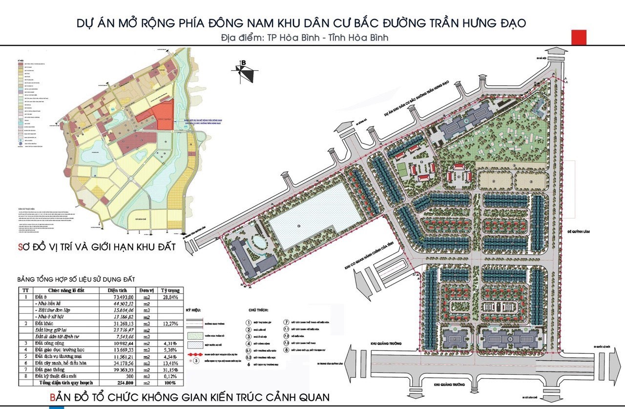 Dự án đất nền Khu đô thị Sudico Hòa Bình New City