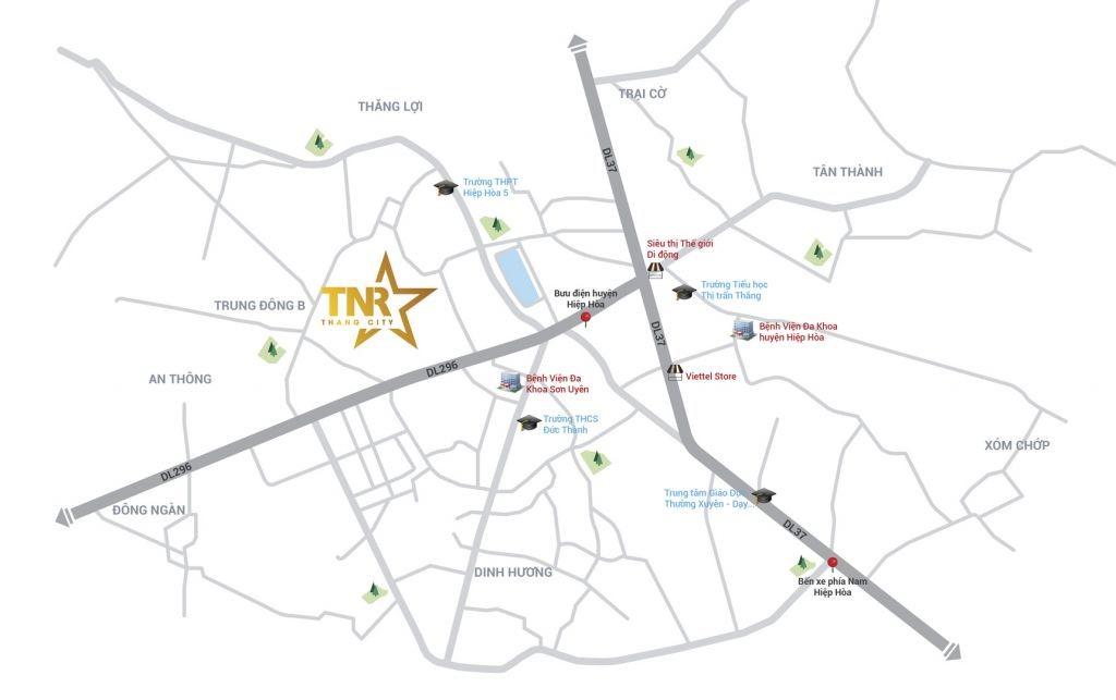 Dự án TNR Stars Thắng City Hiệp Hòa Bắc Giang