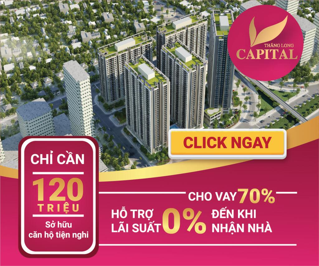 Bảng giá chính thức Tòa T4 Chung cư Thăng Long Capital