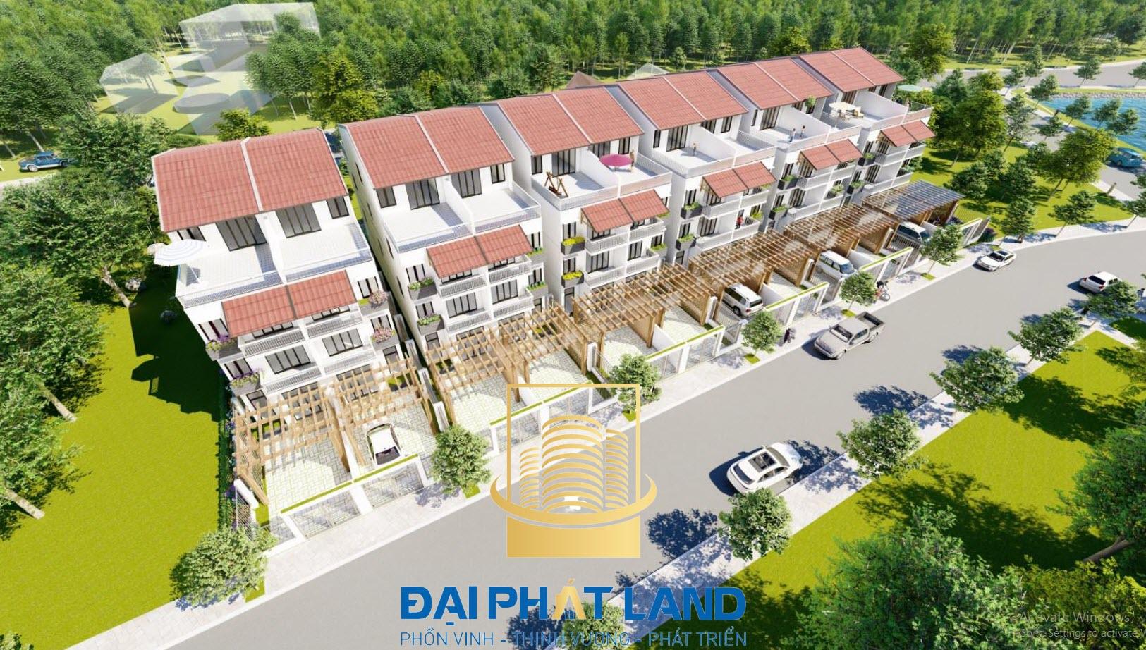 Dự án Khu Nhà ở Tái Định Cư Vai Réo Nông Lâm Phú Cát